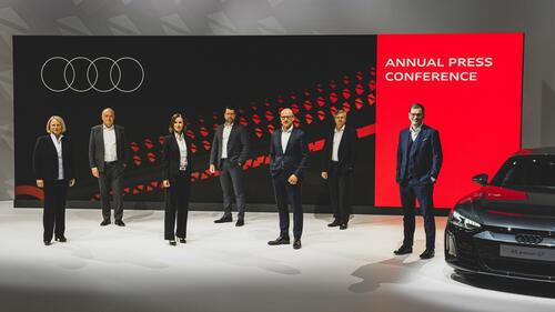Jahrespressekonferenz der AUDI AG 2021