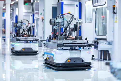 Production of e-motors at Audi Hungaria