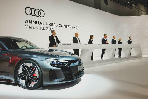 Annual Press Conference of AUDI AG 2021