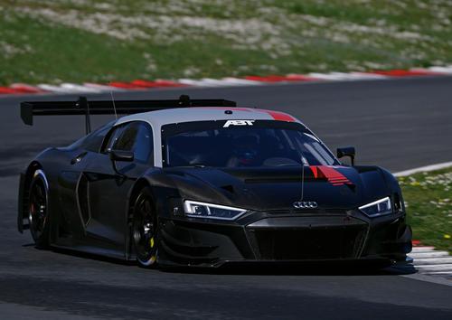 Audi Sport customer racing Vallelunga 2021 test