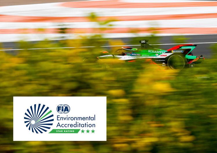 Audi Sport is awarded FIA Three-Star Environmental Accreditation