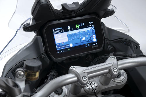 Ducati Multistrada V4 Dashboard
