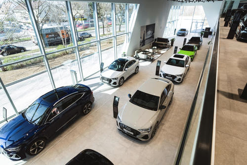 Nachhaltig und digital: Audi eröffnet neuen Flagshipstore in München
