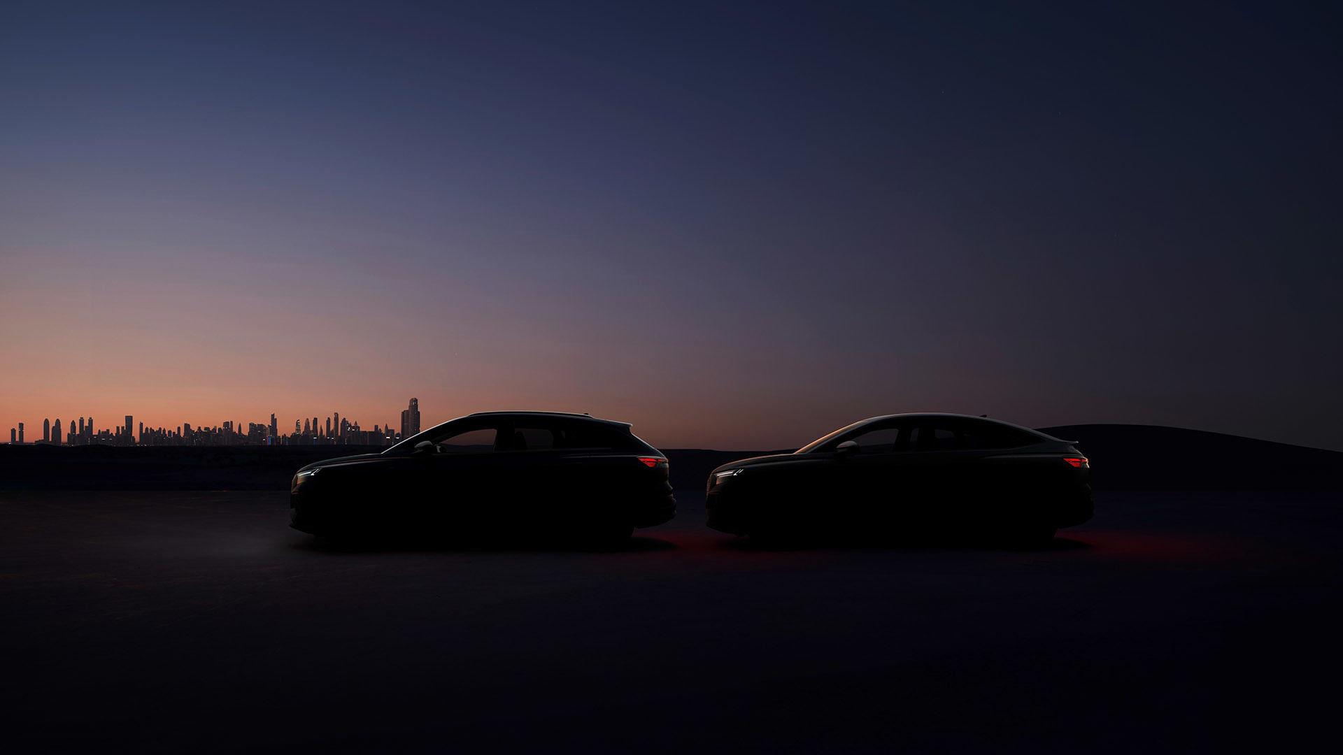 Weltpremiere der Audi Q4 e-tron Modelle: Celebration of Progress
