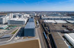 """Ingolstadt Audi"" railroad station - traffic and mobility hub"