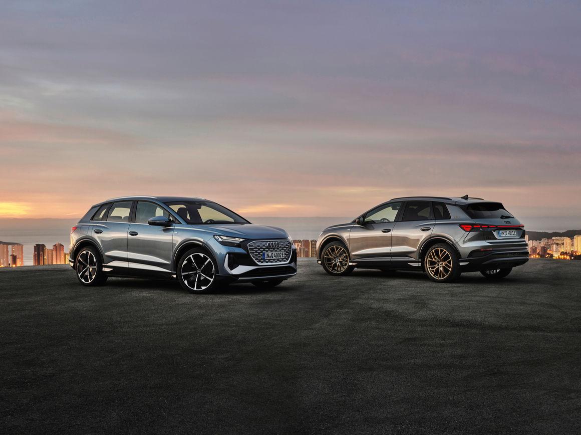 Audi Q4 50 e-tron quattro / Audi Q4 50 e-tron quattro Edition One