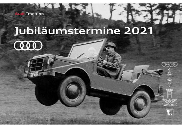 Audi Jubiläumstermine 2021