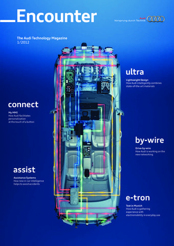 Encounter - The Audi Technology Magazine 01/2012