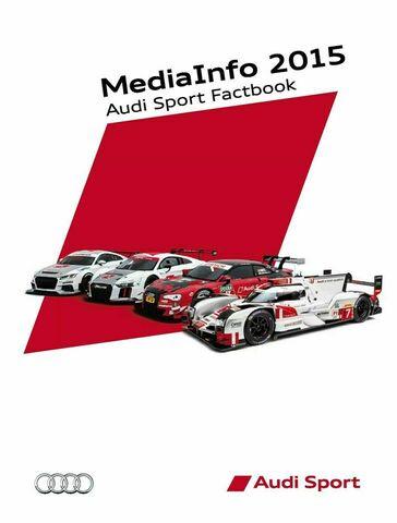 Audi Sport Factbook 2015
