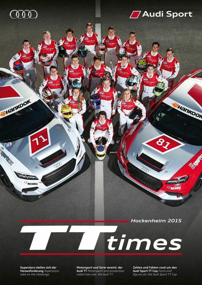 TT Times 01/2015 - Audi Sport TT Cup Hockenheim
