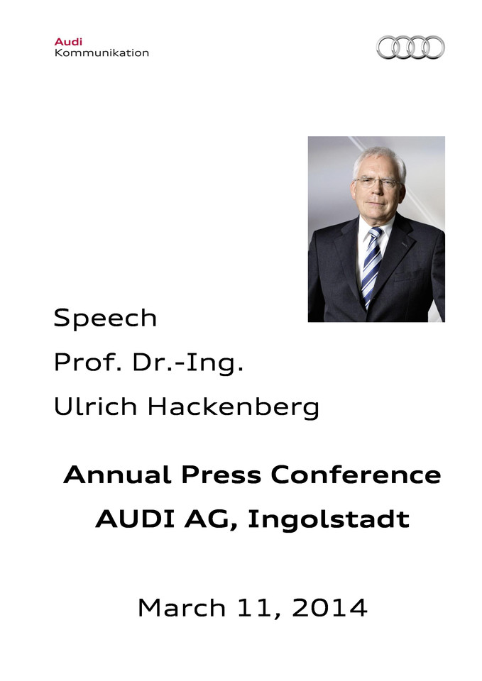 High res 211856203 prof dr ulrich hackenberg annual press conference 2014