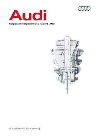 Audi Nachhaltigkeitsbericht 2012