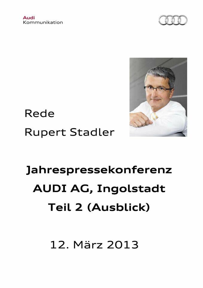 High res 129920534 rupert stadler jahrespressekonferenz 2013 2 teil