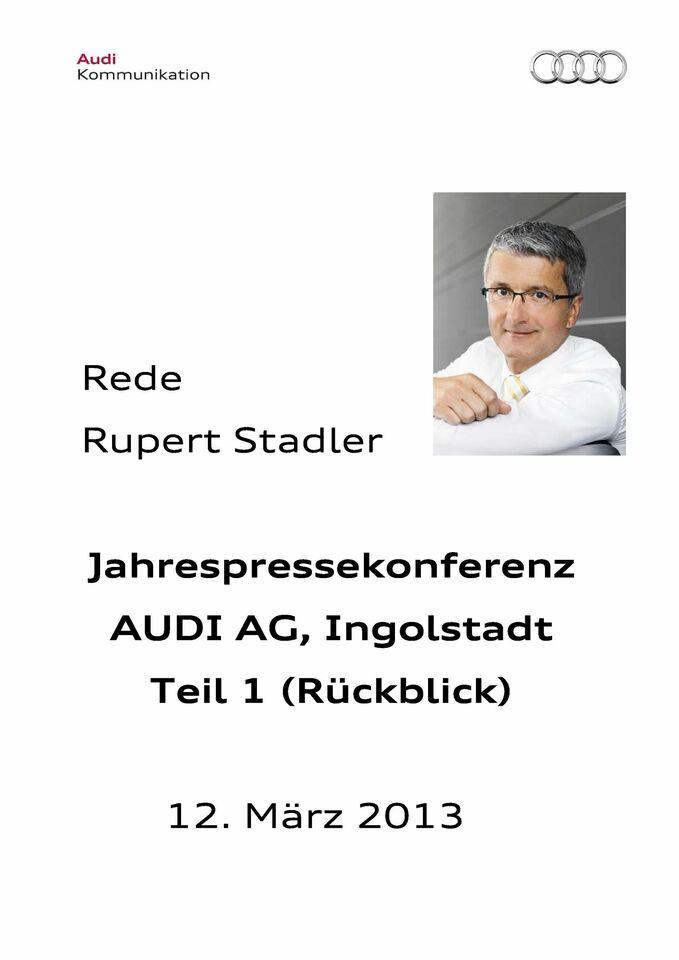 High res 129920325 rupert stadler jahrespressekonferenz 2013 1 teil