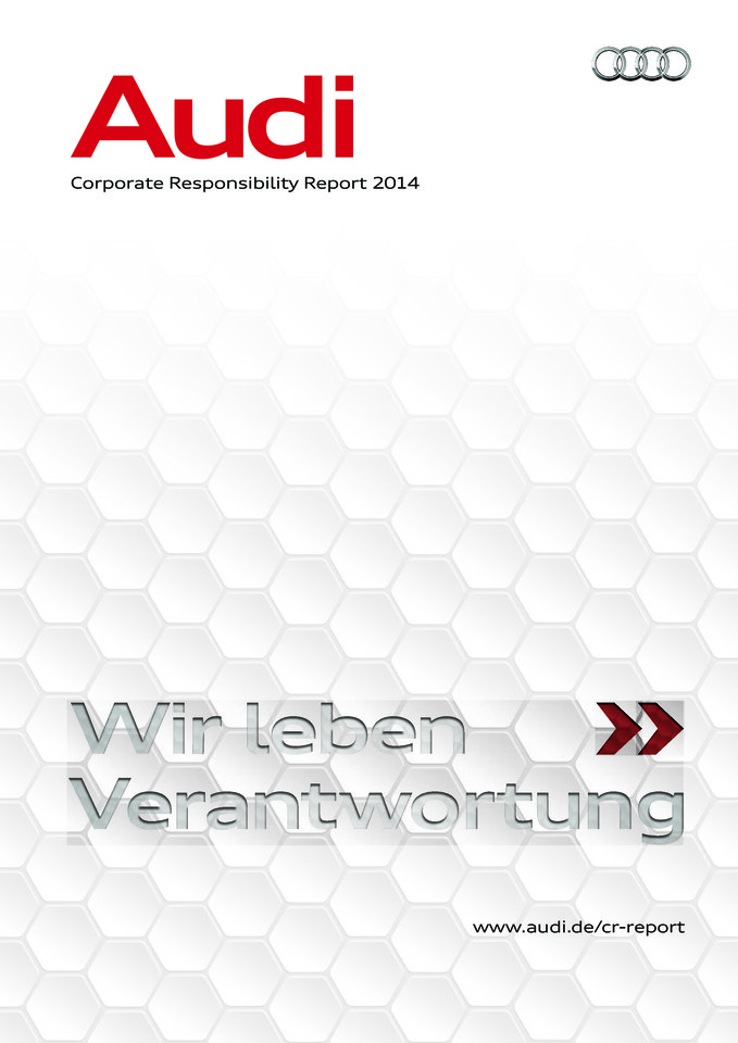Corporate Responsibility Report der AUDI AG