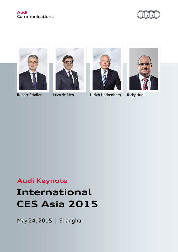 High res 266420272 ces asia 2015 audi keynote