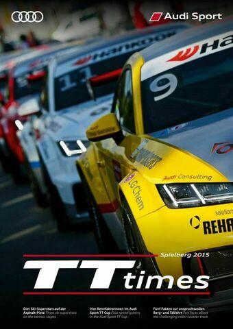 TT Times 03/2015 - Audi Sport TT Cup Spielberg