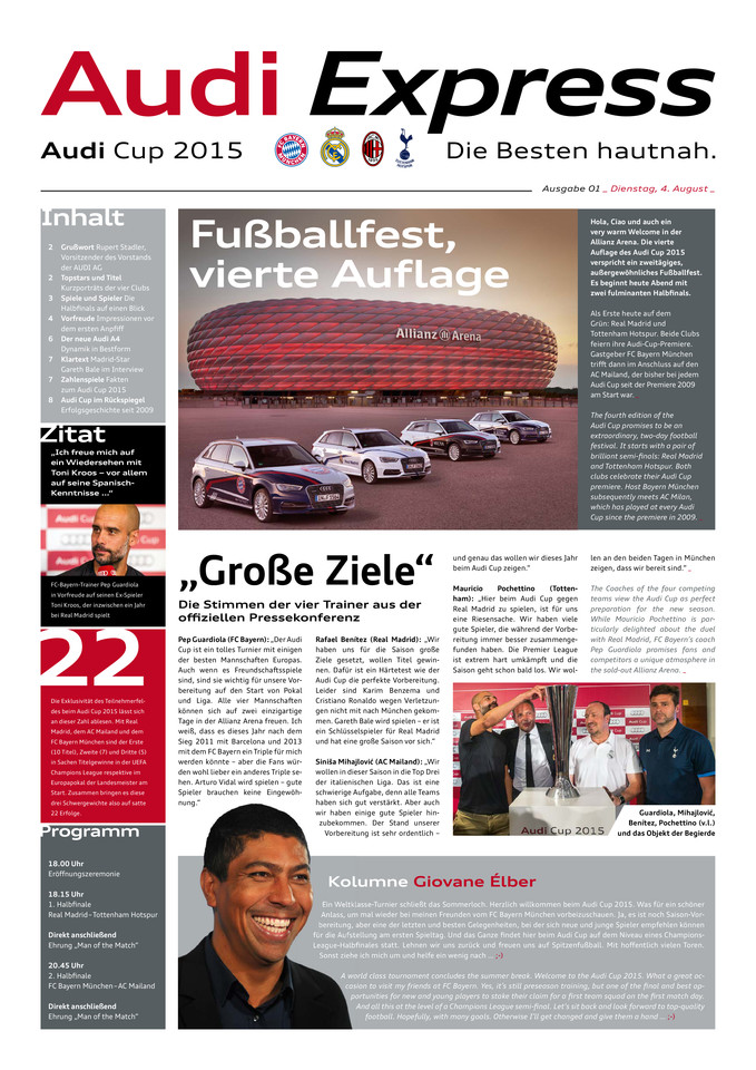 High res audi cup 2015 express 01dienstag
