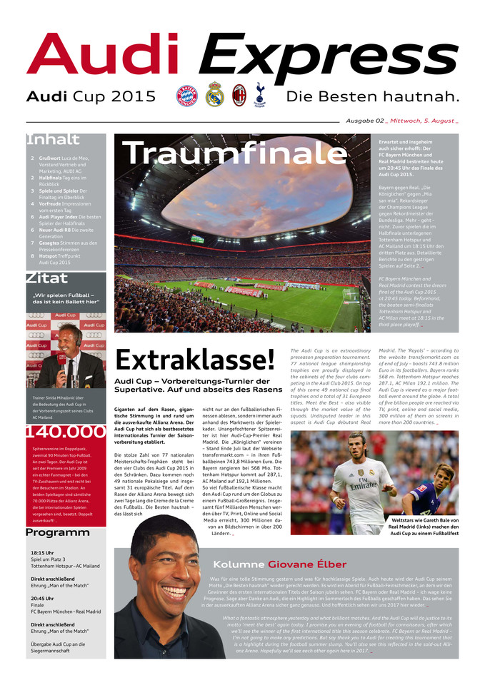High res audi cup 2015 express 02mittwoch