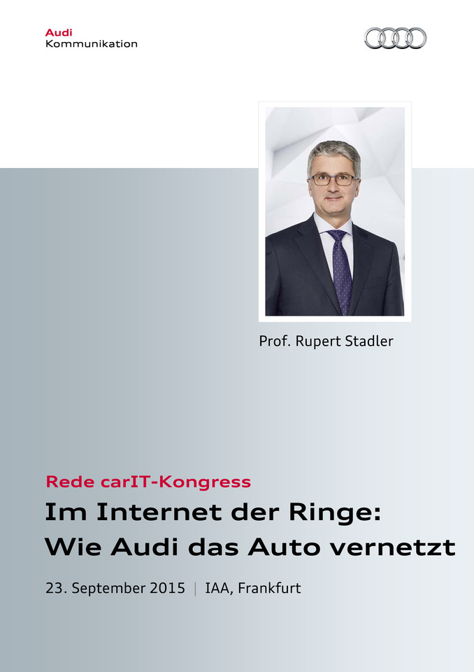 Rede carIT-Kongress
