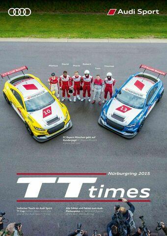 TT Times 05/2015 - Audi Sport TT Cup Nürburgring