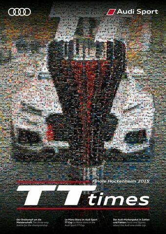 TT Times 06/2015 - Audi Sport TT Cup Finale Hockenheim 2015