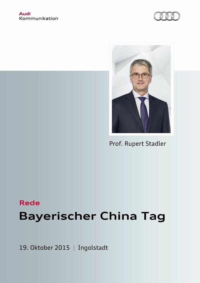 High res 151009 rede rupert stadler beim bayerischen chinatag ingolstadt
