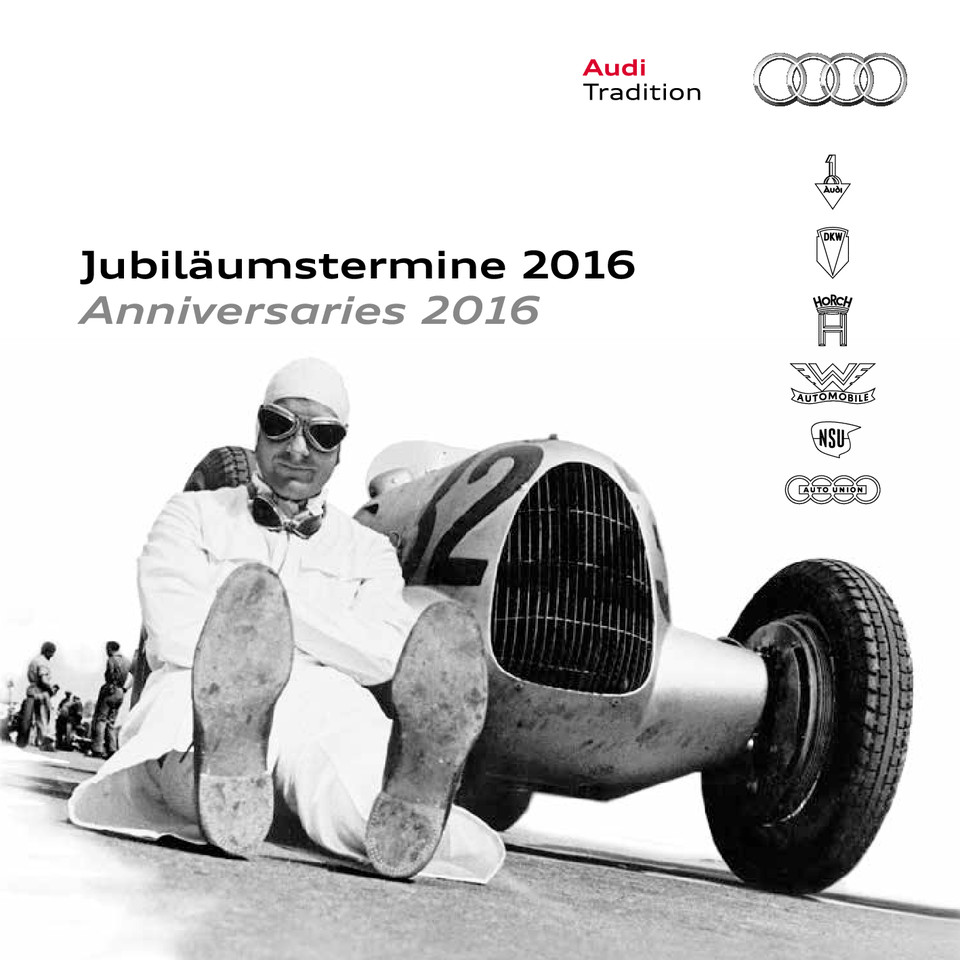 High res jubilaeumstermine 2016