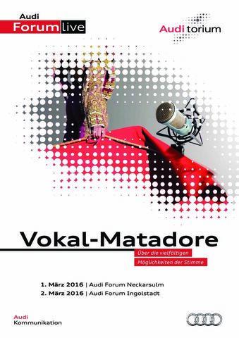 """Audi.torium """"Vokal-Matadore"""""""
