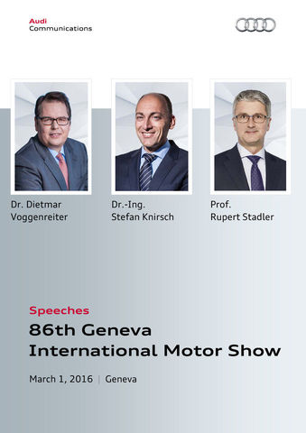 Speeches 86th Geneva International Motor Show
