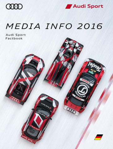 Audi Sport FactBook 2016