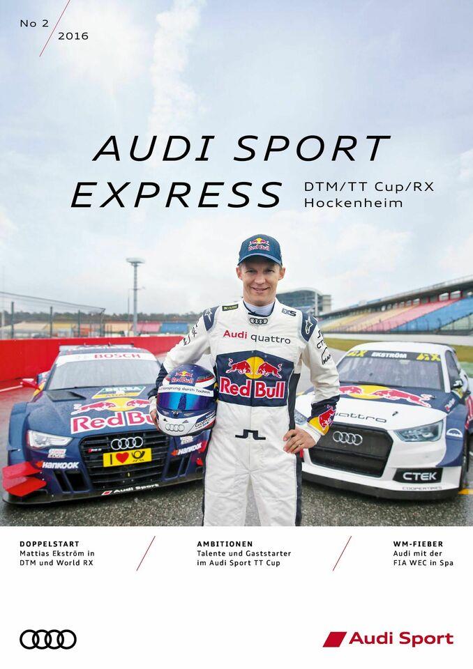 Audi Sport Express 02/2016 – DTM/TT Cup/RX Hockenheim