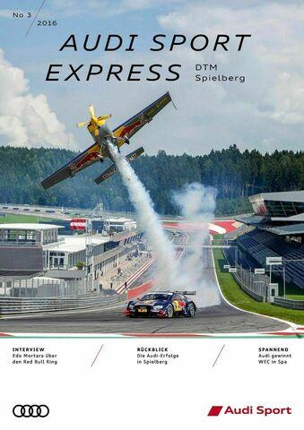 Audi Sport Express 03/2016 – DTM Spielberg