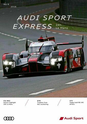 Audi Sport Express 06/2016 – 24h Le Mans
