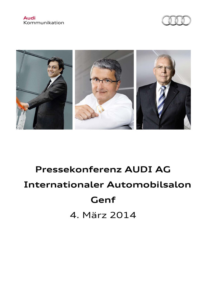 High res 210504544 audi pressekonferenz internationaler automobilsalon genf 2014