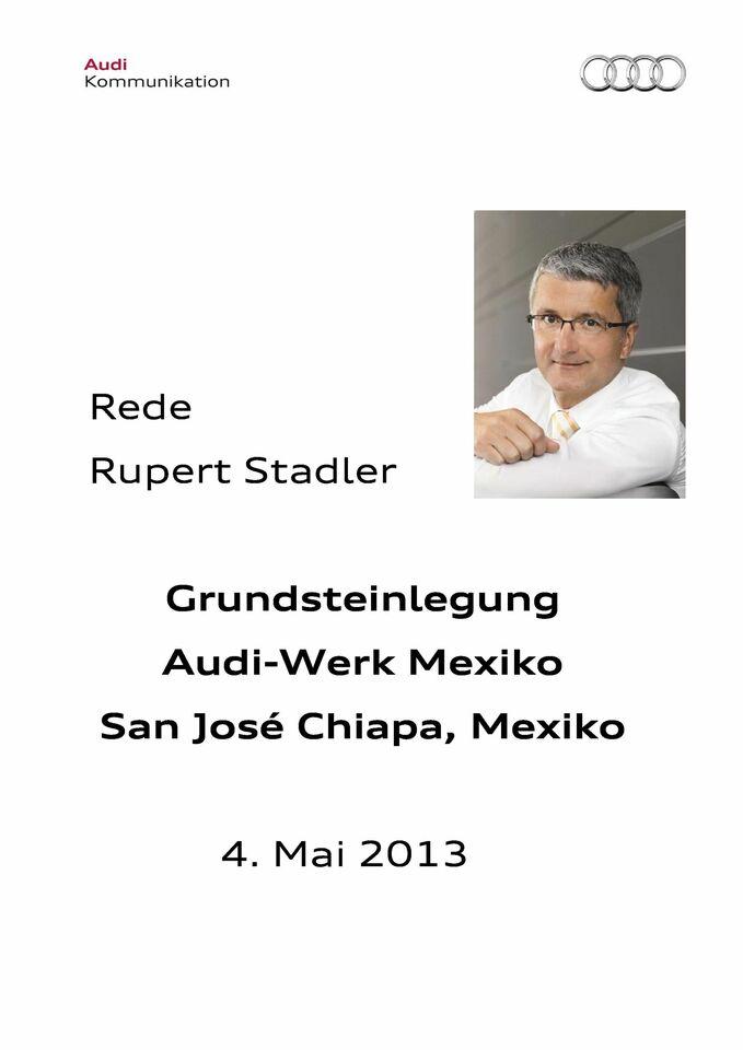 High res 0504 audi mexiko grundsteinlegung redestadler