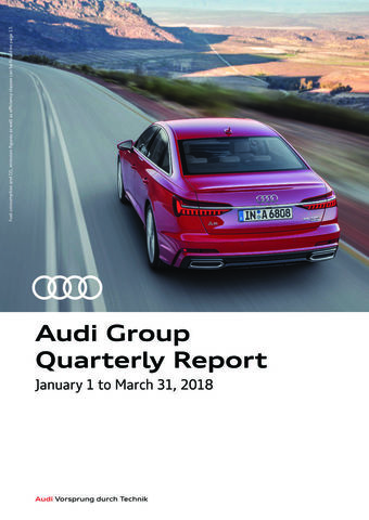 Audi Group Quarterly Report