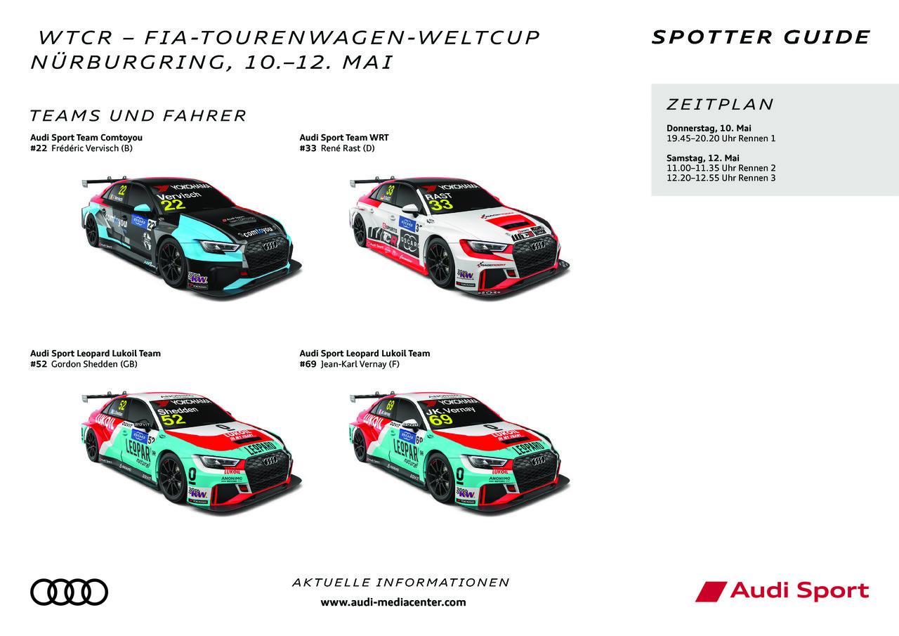 24h Nürburgring 2018 Spotter Guide