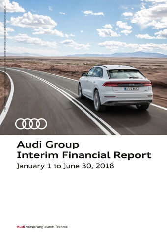 Audi Group Interim Financial Report 2018