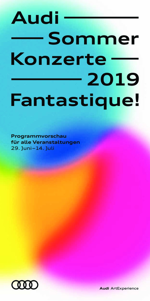 Program Audi Summer Concerts 2019 (german)