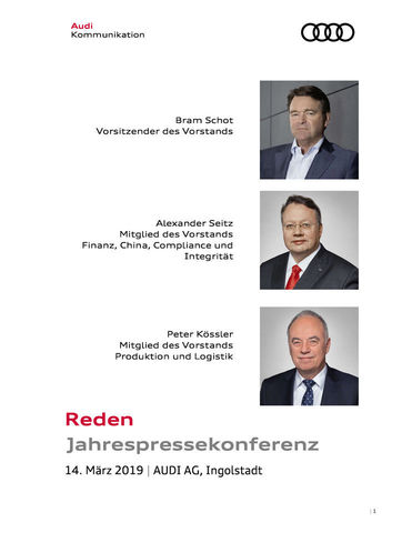 Reden Jahrespressekonferenz 2019