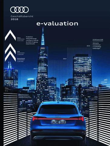 Audi Geschäftsbericht 2018 - e-valuation