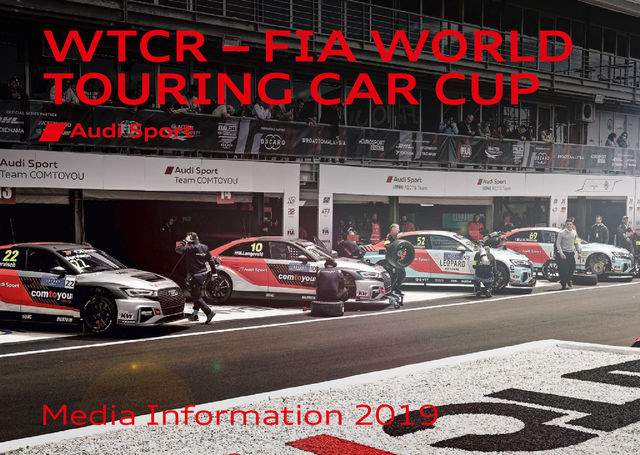 Media Information WTCR – FIA World Touring Car Cup 2019