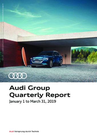 Audi Group Quarterly Report
