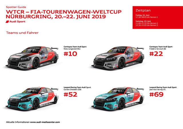 FIA WTCR/24h Nürburgring 2019 Spotter Guide