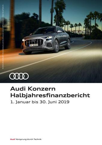 Audi Konzern Halbjahresfinanzbericht