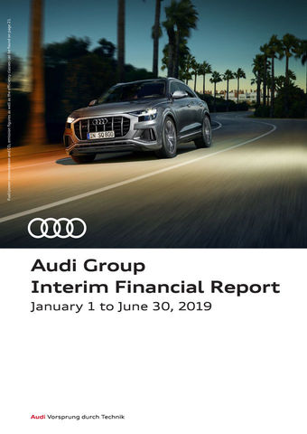 Audi Group Interim Financial Report