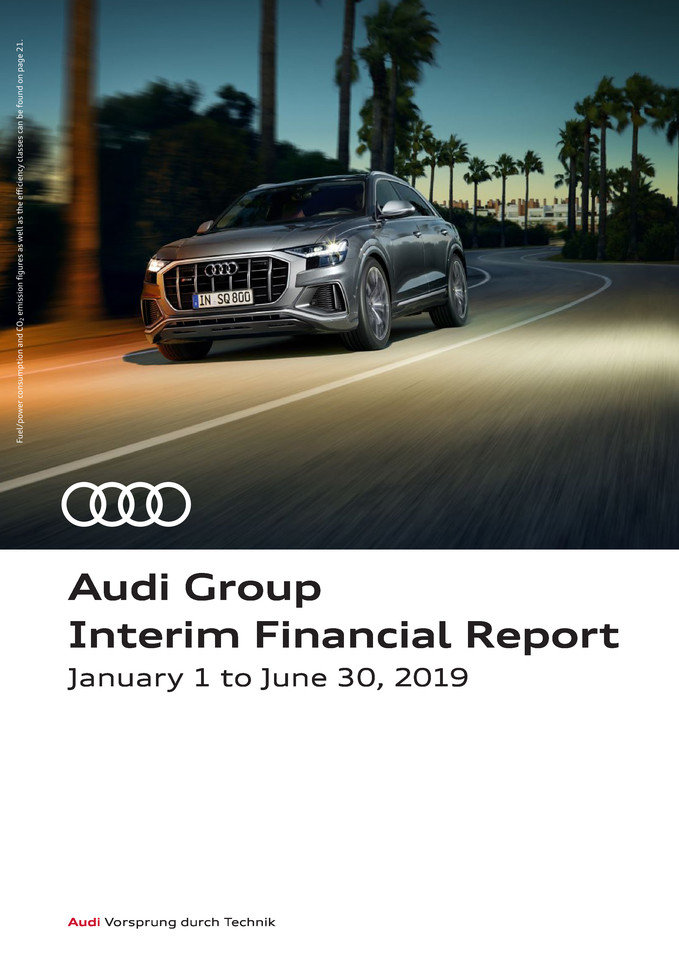 Audi Group Interim Financial Report