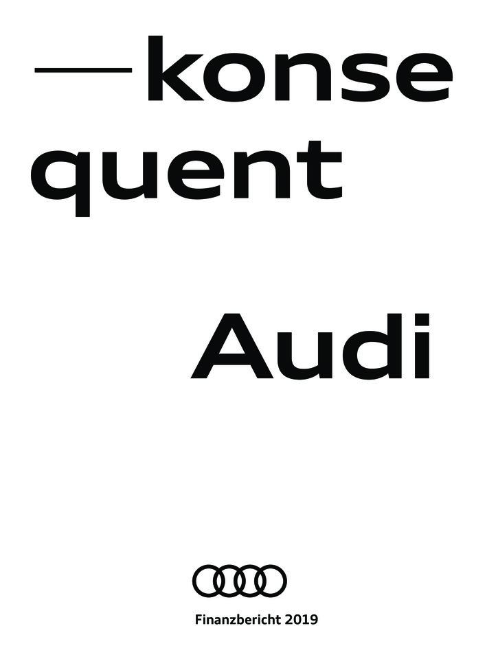 Audi Finanzbericht 2019