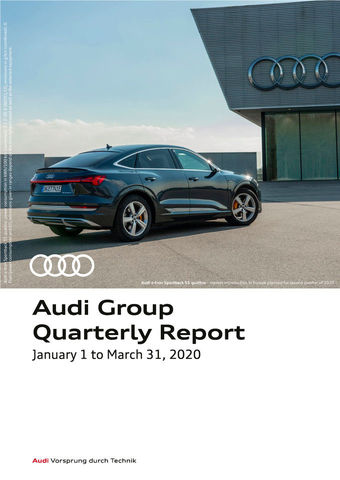 Corona pandemic: AUDI AG takes stock after difficult first quarter - Image 1